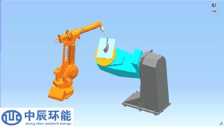 双轴L型变位机协调焊接案例